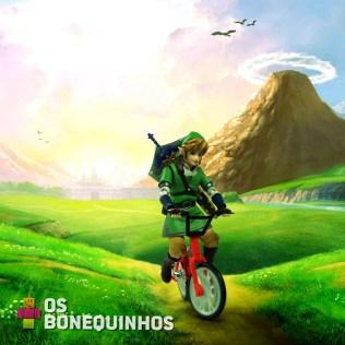 """""""Na falta da Epona, vamos de bike mesmo!"""""""