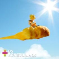 Nuvem voadora pão doce