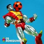 Na época da Copa até o Colossus bateu uma bolinha.