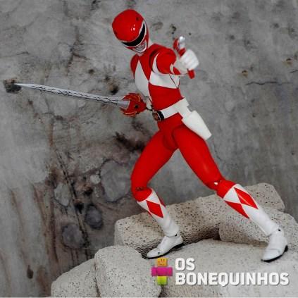 Ranger Vermelho em ação 1