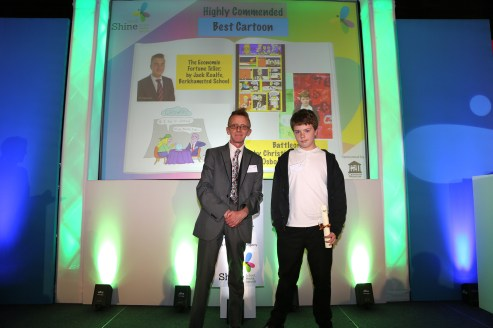 Shine 2016 Best Cartoon Highly Commended Christian Rivron Osborne School