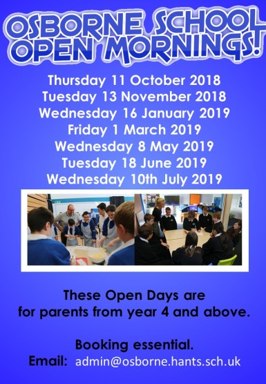 Open Morning poster