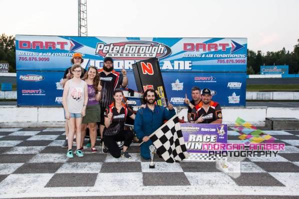 Pro Sprint Feature Winner Dan Hawn