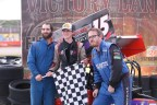 Hawn and Ridell OSCAAR Pro Sprint Feature Winners