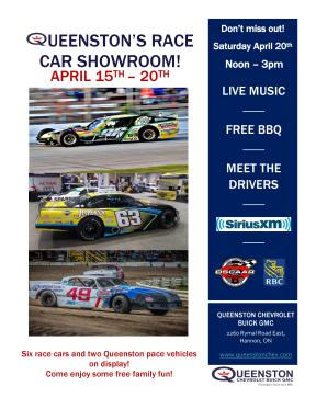 QUEENSTON RACE CAR SHOWROOM
