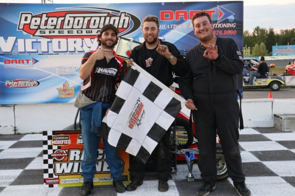 OSCAAR Pro Sprint Top 3 at Peterborough Speedway