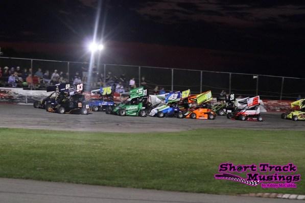 Living Lighting OSCAAR Pro Sprints Flamboro Speedway