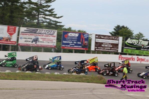 OSCAAR Pro Sprints at Sunset Speedway