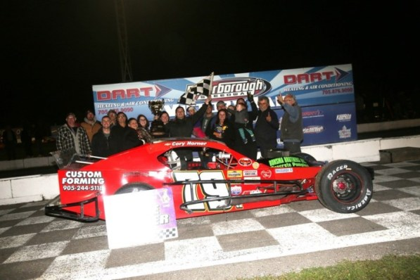 Cory Horner OSCAAR Modified Champion