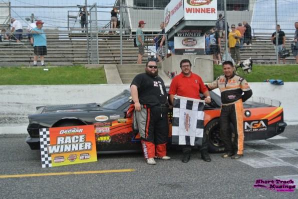 OSCAAR Hot Rod Series Top 3 Sunset Speedway