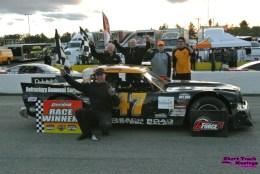 Steve Book at Delaware Speedway
