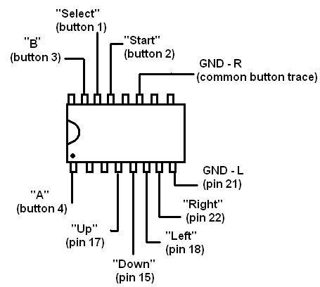 Nes Controller Wiring NES Controller Ir Wiring Diagram