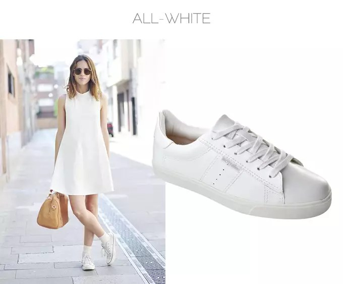look all white tenis branco