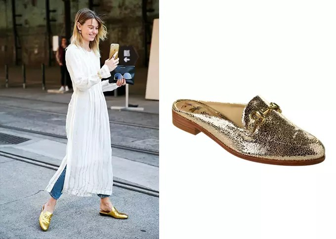 look com open loafer