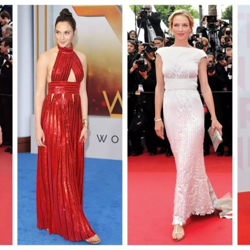 Vestidos de festa e as Glam Flats inspiracao do red carpet