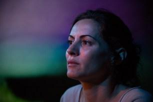 La Compagnia Dell'Improvviso - No Woman's Land, filage au Théâtre Le Comedia, Paris. Mise en Scène Luca Franceschi. Carole Ventura.