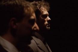 No Limit, Répétitions au Grand Palais, Paris. Mise en scène Robin Goupil assisté par Arthur Cordier. Martin Karmann & Tom Wozniczka.
