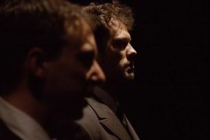 No Limit, Répétitions au Grand Palais, Paris. Mise en scène Robin Goupil assisté de Arthur Cordier. Martin Karmann & Tom Wozniczka.