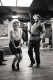 No Limit, répétitions au Cielito Lindo. Mise en scène Robin Goupil assisté par Arthur Cordier. Laurène Thomas & Augustin Passard.
