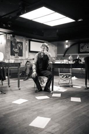 No Limit, répétitions au Cielito Lindo. Mise en scène Robin Goupil assisté par Arthur Cordier. Augustin Passard.