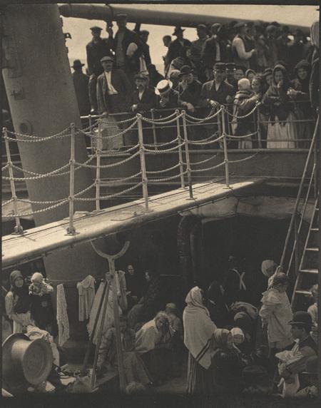 Alfred Stieglitz. The Steerage. 1907