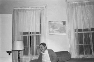 Lee Friedlander Leslie Katz, Saratoga Springs, New York 1974