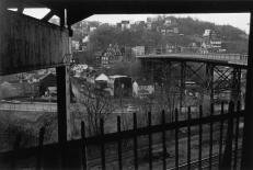 Lee Friedlander Pittsburgh, PA Plate 3 from %22Factory Valleys%22 1980