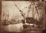 David Octavius HIll, Michael & Barbara Gray, Robert Adamson. Docks with ship cockburn tied up.