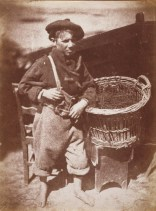 David Octavius HIll & Robert Adamson.Newhaven boy king fisher or his fathers breeks. (1843-1847)