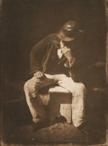 David Octavius HIll & Robert Adamson. Willie Liston, Newhaven fisherman. (ca. 1844)