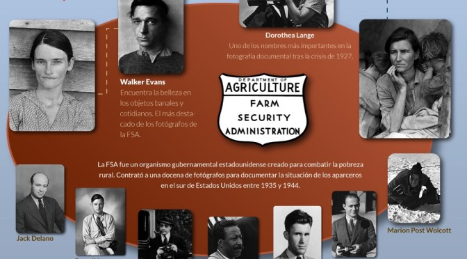 Dos visiones colectivas en el documentalismo social: La Farm Security Administration (FSA) y la Photo League