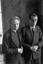 Irène and Frédéric Joliot-Curie, Paris1945 Henri Cartier-Bresson