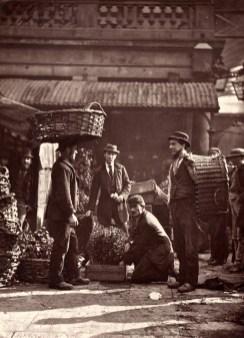 John Thomson.Covent Garden Labourers. (ca. 1873)