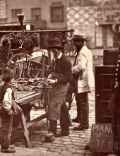 John Tomson. The Street Locksmith. (ca. 1873)