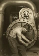 "Lewis Wickes Hine, ""Powerhouse Mechanic"", 1920, Gelatin silver print"