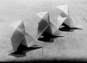 Mariquitas de papel