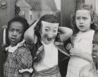 """Marvin E. Newman. """"Halloween, South Side"""". 1951"""