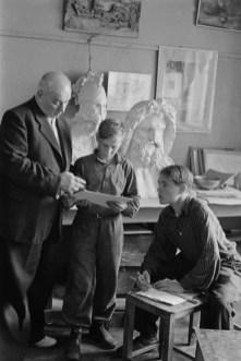 Moscú 1954e Henri Cartier Bresson