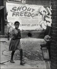 Rosalie Gwathmey. Shout Freedom, Charlotte, North Carolina, c. 1948