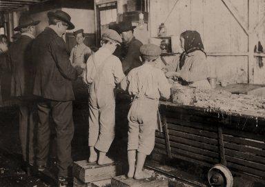 Seafood Workers- Shrimp pickers Lewis HIne
