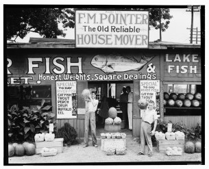 Roadside stand near Birmingham Alabama. Walker Evans