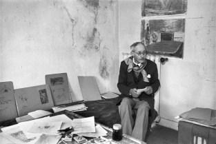 1944 Pierre Bonnard, Le Cannet, Francia. Henri Cartier Bresson