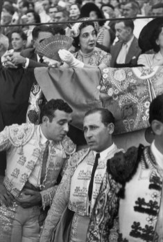 1952 San Fermines, Pamblona, España. Henri Cartier-Bresson
