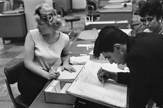 "1960. De la serie 2Bankers Trust, New York "". Henri Cartier-Bresson"