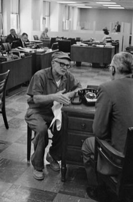 "1960. De la serie ""Bankers Trust, New York"". Henri Cartier-Bresson"