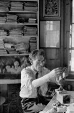 1961 Alberto Giacometti, Stampa, Switzerland Henri Cartier-Bresson