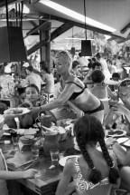 1969 Club Méditerranée, Santa Giulia, Corsica, France Henri Cartier-Bresson
