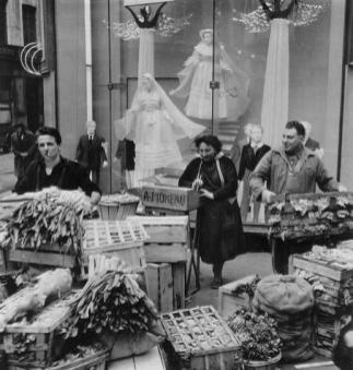 Angels and Leeks Robert Doisneau, 1953
