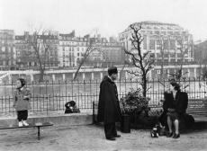 Square du Vert-Galant Robert Doisneau, 1950