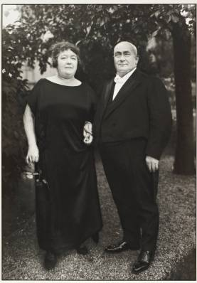 Gentleman Farmer and Wife 1924 by August Sander 1876-1964